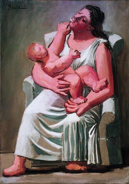 Pablo Picasso, Maternità, 1921