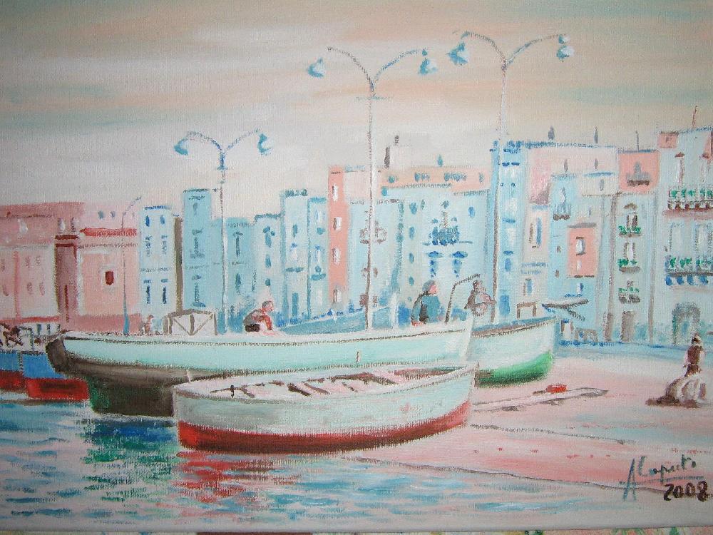 Barche a Taranto