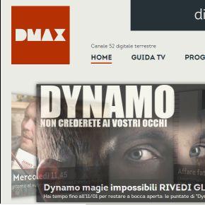 Dmax, la tivù per i maschietti