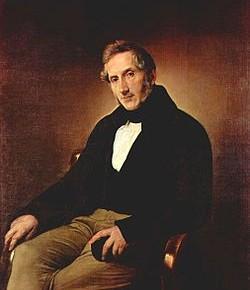 Ritratto di Alessandro Manzoni, Francesco Hayez (1841), Pinacoteca di Brera, Milano.