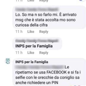 INPS per la famiglia: screenshot
