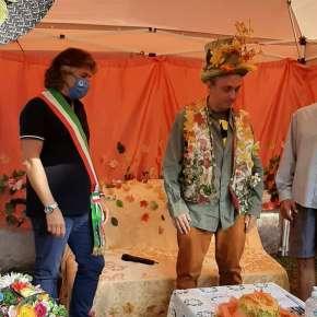 Il sindaco Giuseppe Argentieri con Carmine Caputo