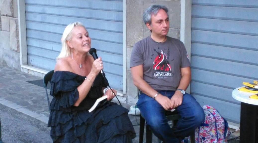 Con Cristina Orlandi al Blues Cafè